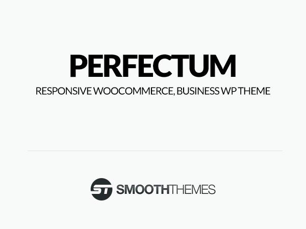 Perfectum top WordPress theme