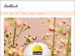 Redbud WordPress theme