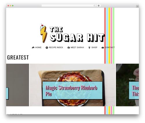 SimpleMag top WordPress theme - thesugarhit.com