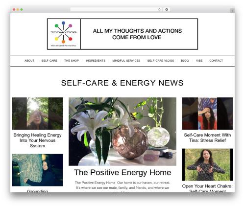 SimpleMag WordPress theme - tonyandtina.net