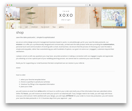 Storefront free WordPress theme - teamxcommunications.com/wordpress