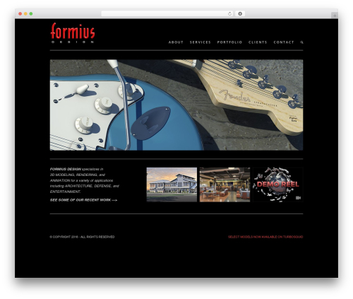 Template WordPress Enfold - formiusdesign.com