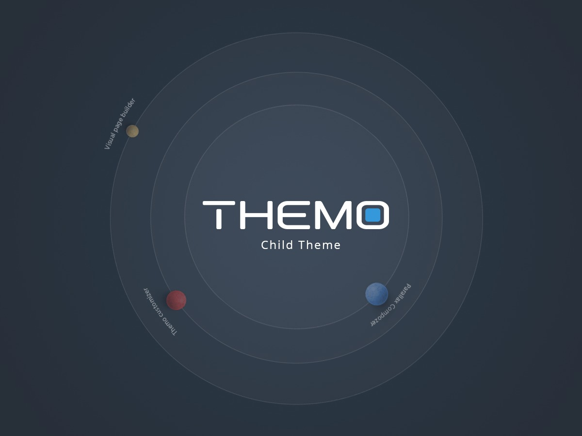 Themo Child Theme WordPress page template