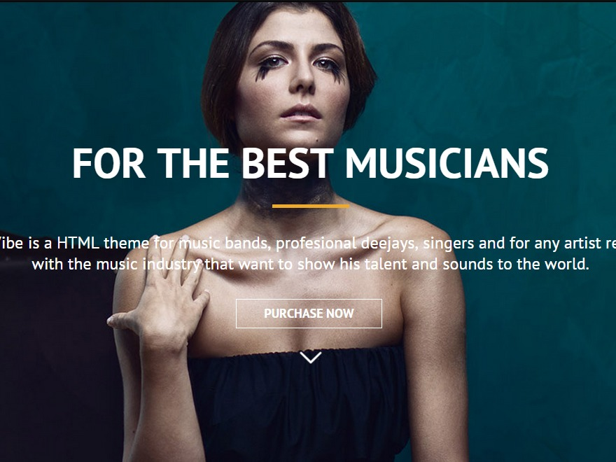 ViberMusic WordPress magazine theme