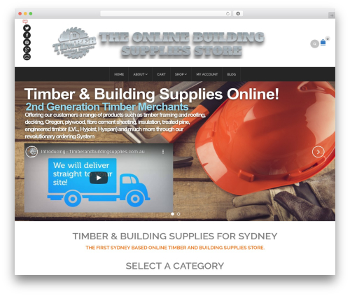 Free WordPress WP Header image slider and carousel plugin - timberandbuildingsupplies.com.au