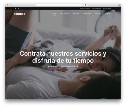 WordPress theme Salient - telecso.es