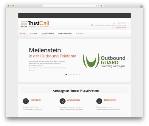 WordPress theme theme1741 - trustcall.de