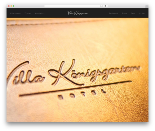 Andy WordPress hotel theme - villa-koenigsgarten.com