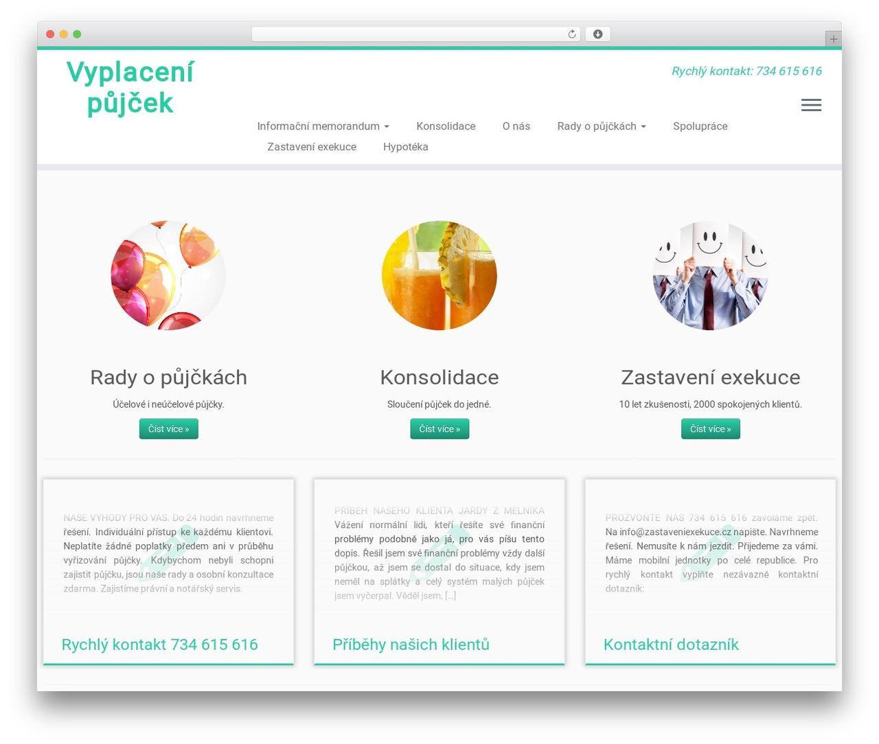 Customizr free WP theme - vyplacenipujcek.cz