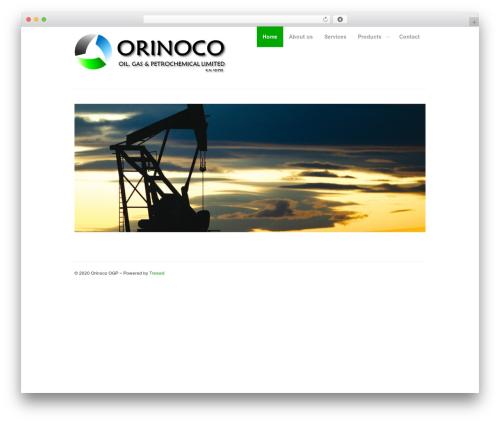 MyCorp theme WordPress - orinocoogp.com