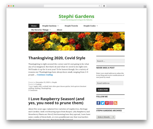 Free WordPress Amazon Product in a Post Plugin plugin - stephigardens.com