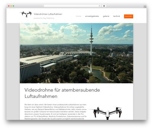 WordPress website template Videodrohnen Luftaufnahmen - videodrohne-luftaufnahmen.de