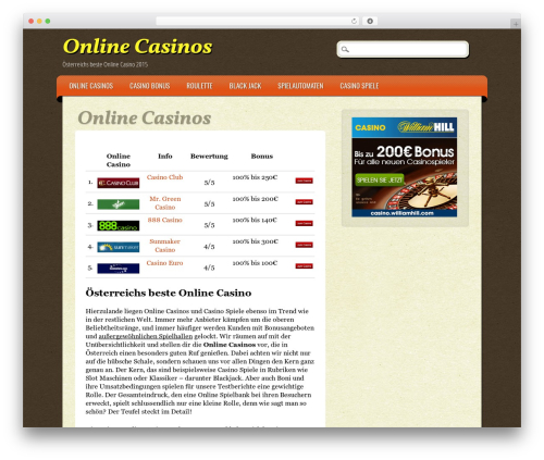 Best WordPress theme ePublishing - online-casinos.at