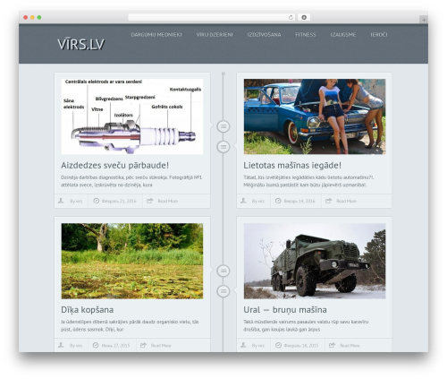 Chronology by MyThemeShop best WooCommerce theme - virs.lv
