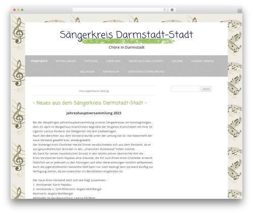 Gray Chalk WordPress website template - sk-darmstadt.de