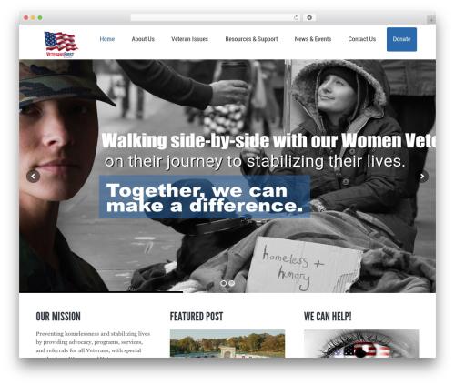 Kause Update WP template - veteransfirstltd.org