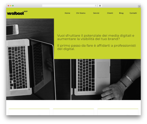 rosetta WordPress theme - viralbeat.com