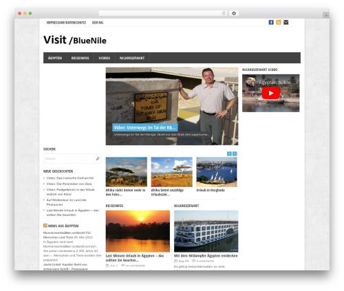 Theme WordPress Eris - visitbluenile.com