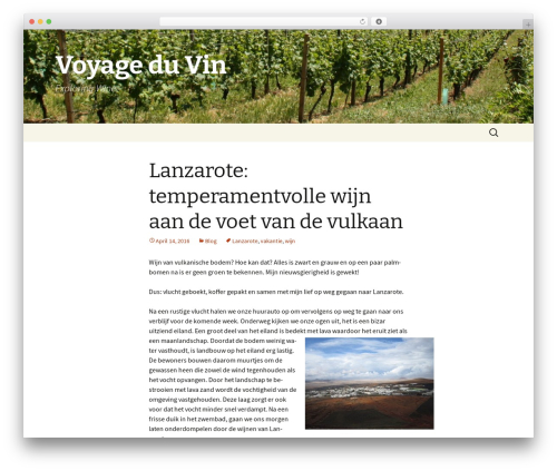 Twenty Thirteen theme WordPress free - voyageduvin.nl