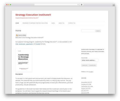 Free WordPress googleCards plugin - strategyexecutioninstitute.com