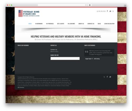 WP theme Kakia - veteranhomefinancing.com