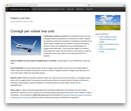 Activetab template WordPress free - voliamolowcost.net