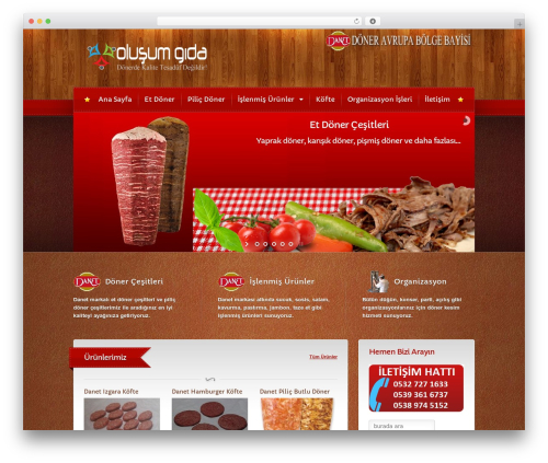 Bordeaux Premium Theme theme WordPress - olusumetgida.com