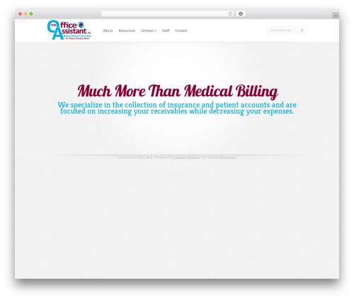 LeanBiz medical WordPress theme - oabilling.com