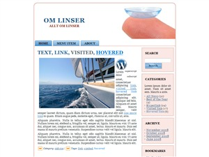 omlinser WordPress theme