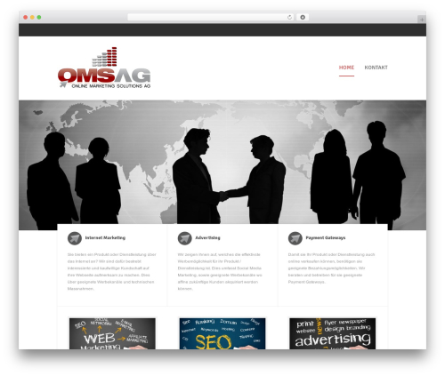 OMSAG WordPress theme - omsag.com