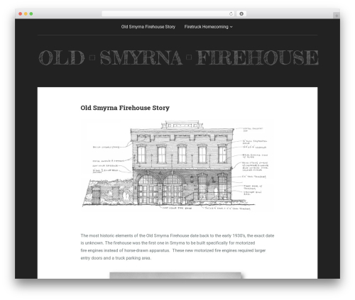 Padhang template WordPress - oldsmyrnafirehouse.com