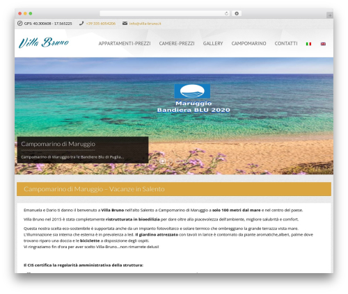 Viva Hotel theme WordPress - villa-bruno.it