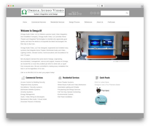 BrightBox theme WordPress - omega-av.com