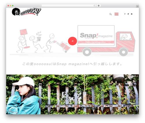 Enfold WordPress theme - ooooosu.com