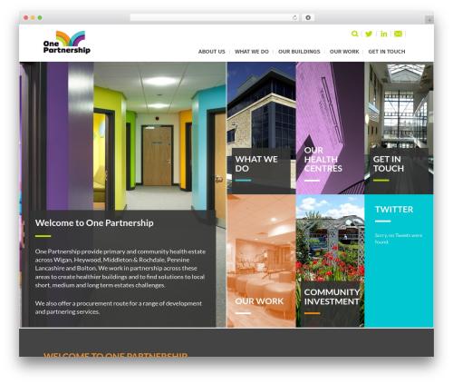 One Partnership WordPress theme - one-partnership.co.uk