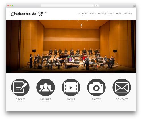 Pinnacle WordPress template free download - orchestra-de-r.com