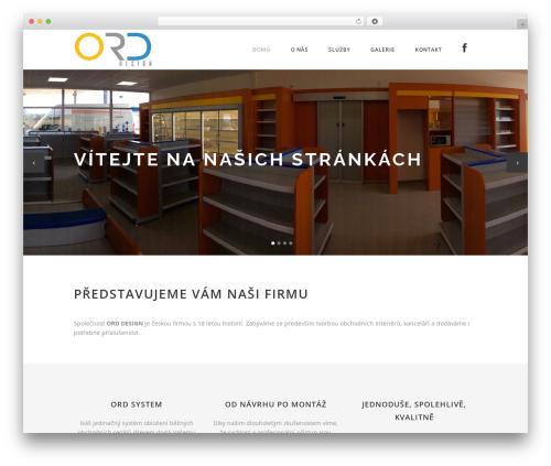 Stockholm template WordPress - ord-design.cz