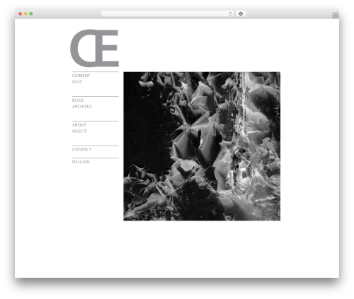 Template WordPress Carrington Text - organseverywhere.com