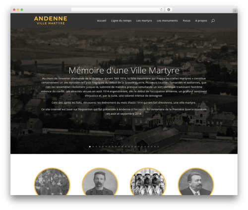 Andenne Child best WordPress template - ville-martyre.andenne.be