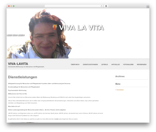 Best WordPress theme SKT White - viva-lavita.de
