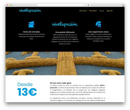Divi (shared on wplocker.com) best WordPress theme - vivelapasion.org