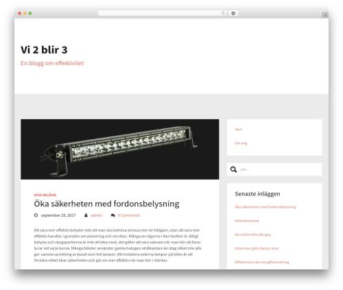Sixty best free WordPress theme - vi2blir3.se