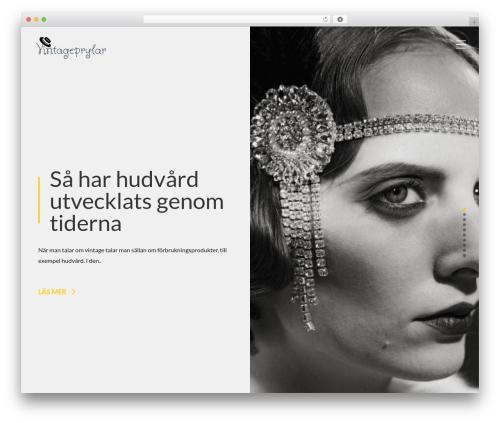 Beryl free website theme - vintageprylar.se