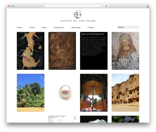 Grid Theme Responsive WP template - voicesofthepearl.org