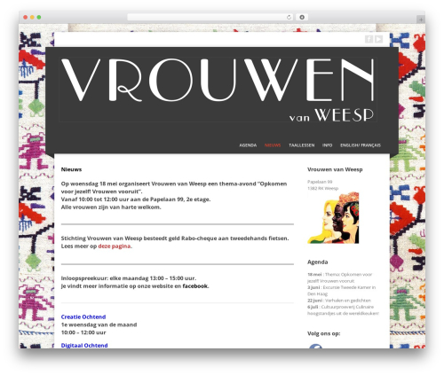 Corpo WP template - vrouwenvanweesp.nl