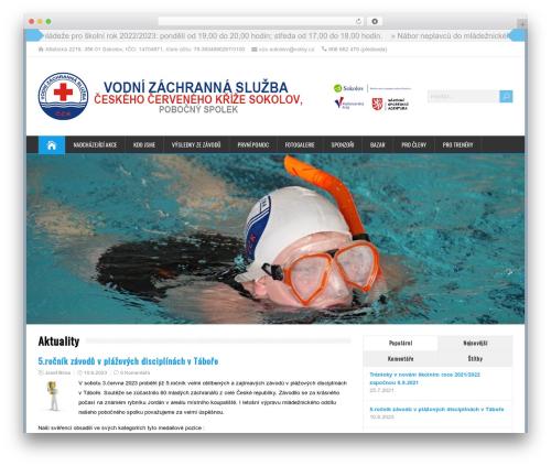 HappenStance Premium WordPress page template - vzs-sokolov.cz