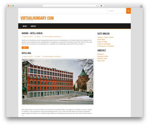 WordPress theme Koenda - virtualhungary.com