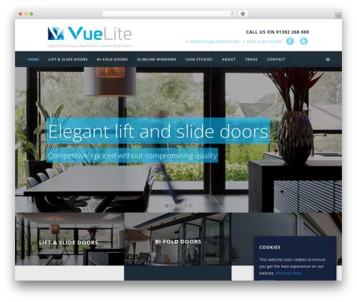 Bridge WordPress theme - vuelite.co.uk
