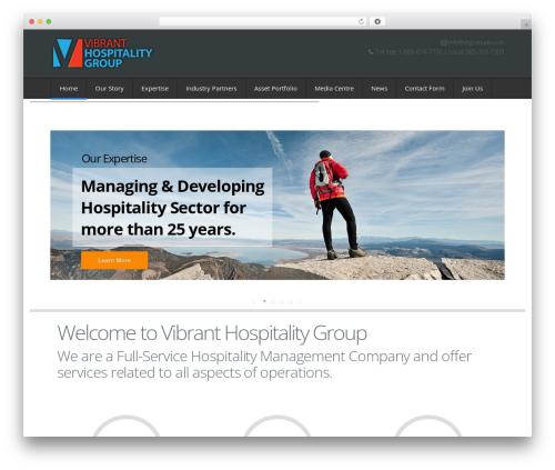 NetStudio company WordPress theme - vhgcanada.com