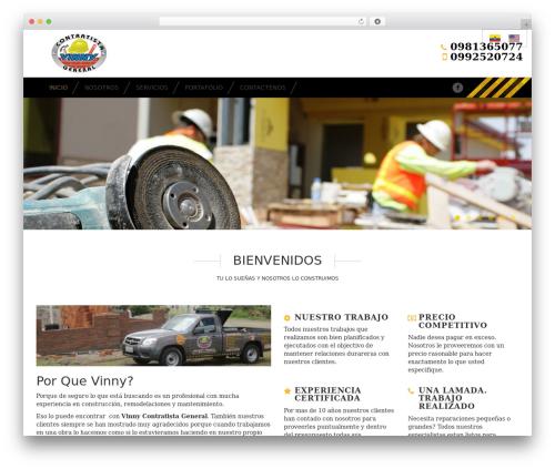 Stripes WordPress theme download - vinnycontratista.com